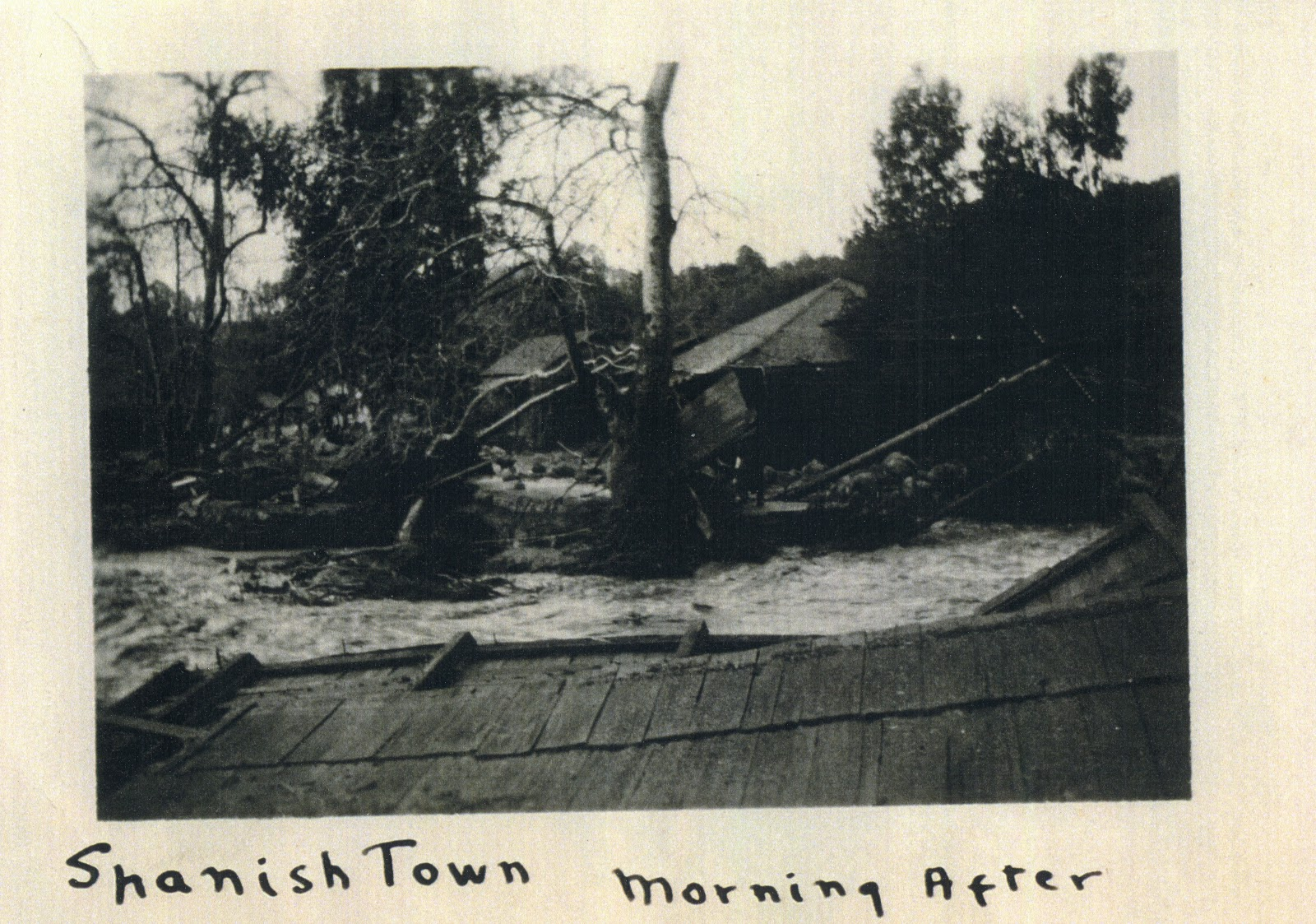 Old Spanish Town In Montecito, At East Valley Road And Montecito Creek, 1914.