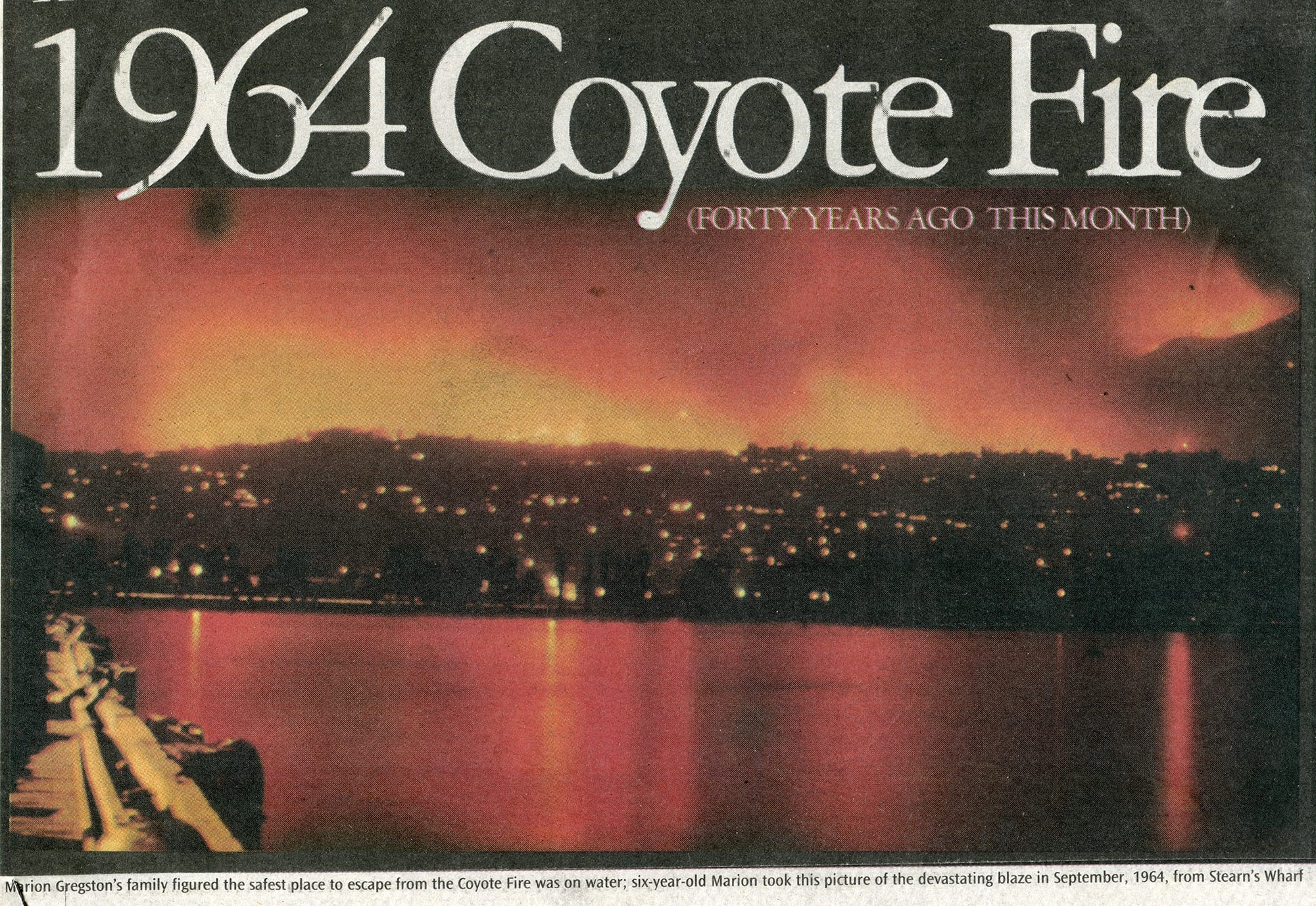 1964 Coyote Fire Anniversary Image