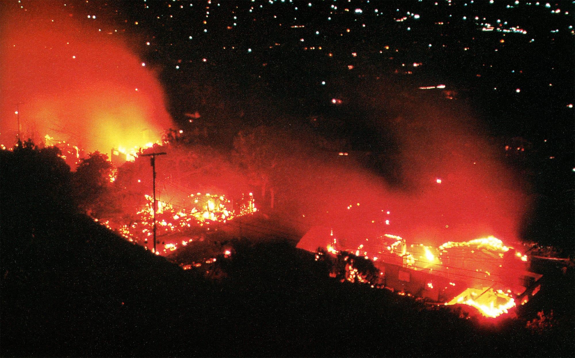 Sycamore Fire, 1977
