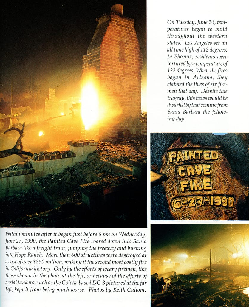 Scenes from Paint Fire, 1990