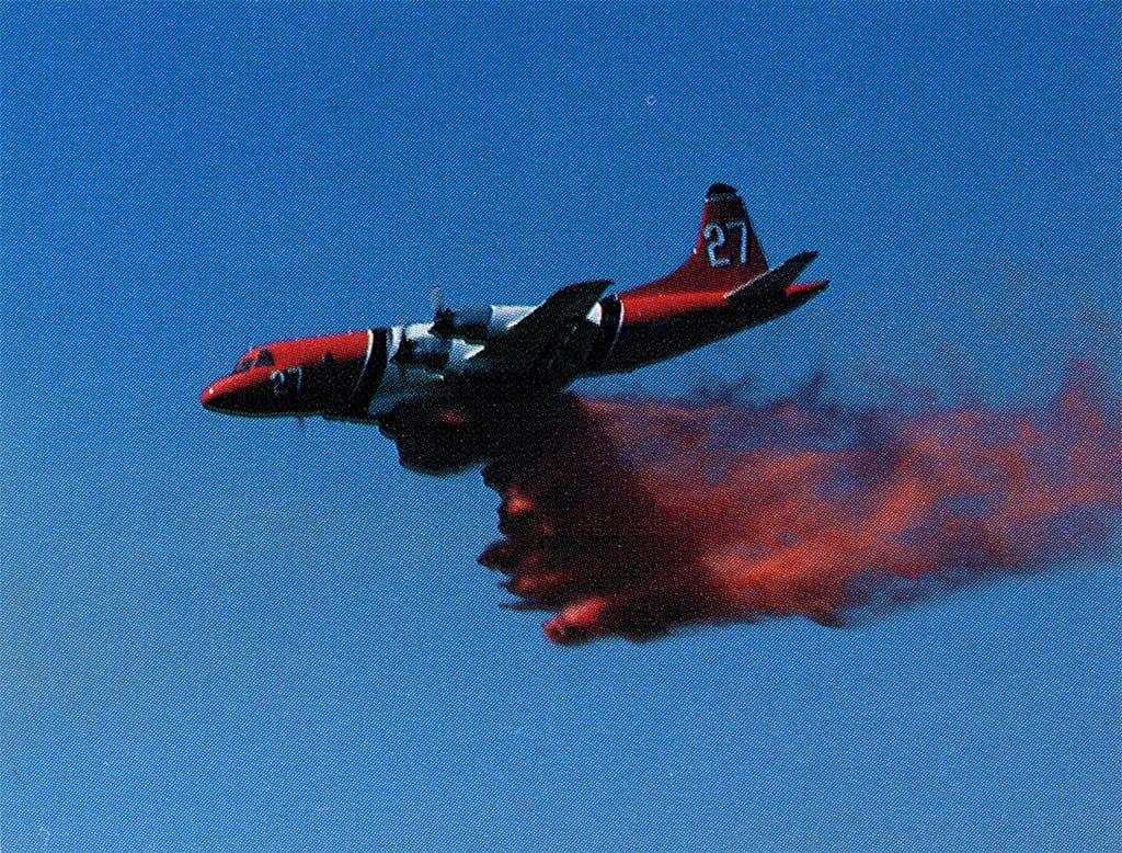 Fire retardant, Paint Fire, 1990