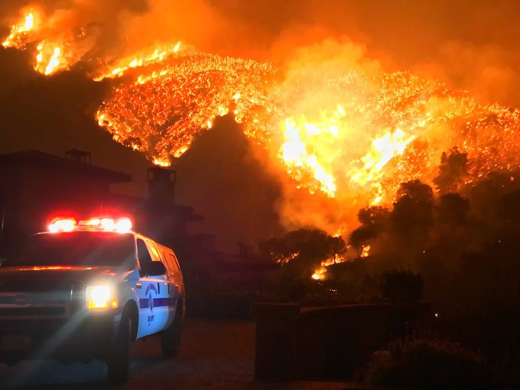 Thomas Fire, December 2017