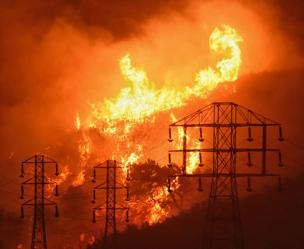 Thomas Fire, 2017