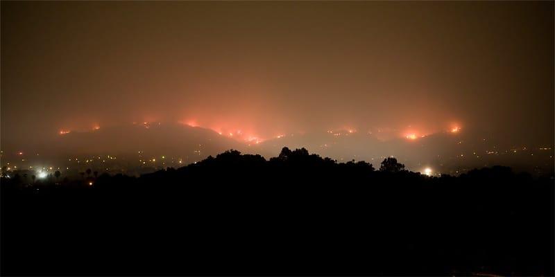 Jesusita Fire, May 5, 2009