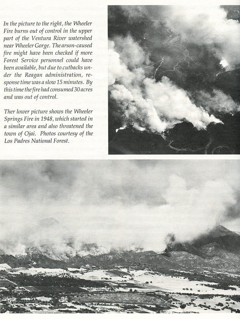 Wheeler Fire, 1985