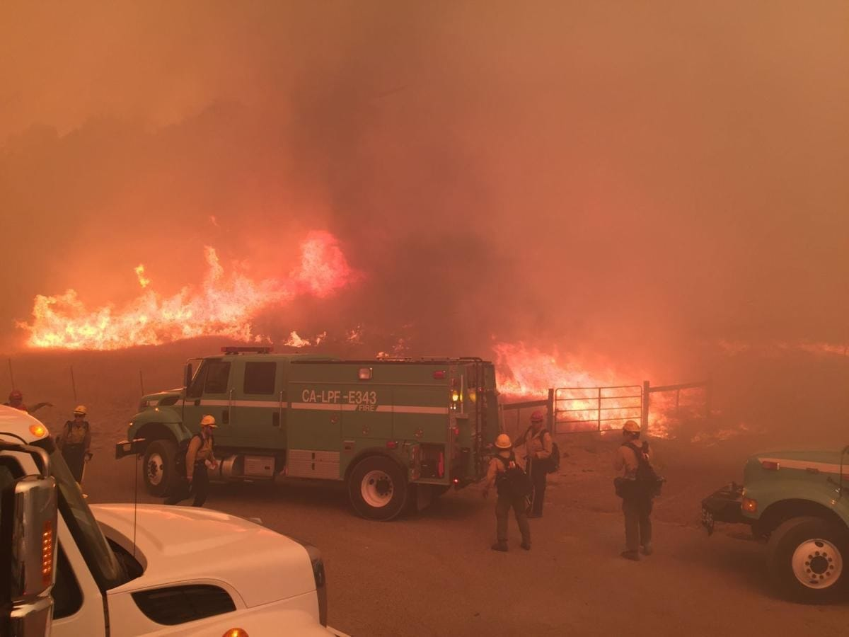 2017 Whittier Fire