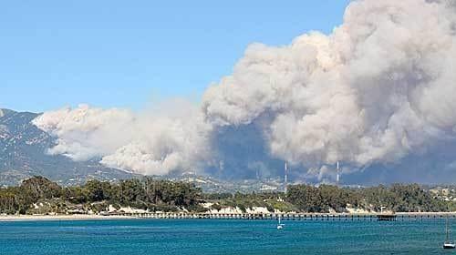 Jesusita Fire, 2009